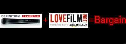 dvd player free lovefilm